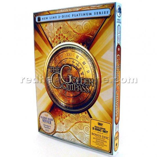 The Golden Compass 2-Disc DVD with Bonus Disc RARE (3-Disc Best Buy Exclusive) NEW
