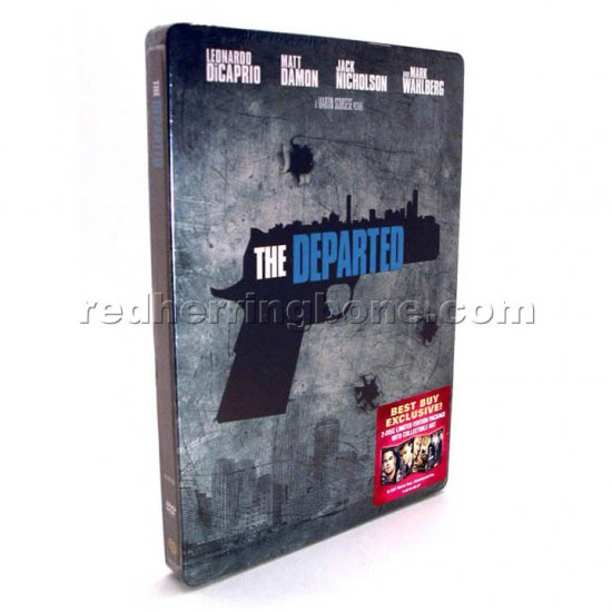 The Departed 2-Disc DVD Limited Edition RARE Steelbook case (Best Buy Exclusive) NEW