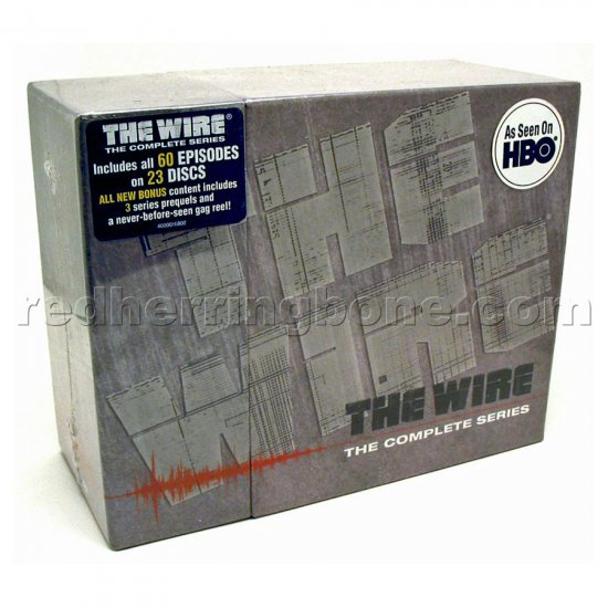 The Wire: The Complete Series DVD Collection HBO NEW