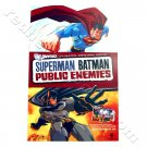 Superman Batman: Public Enemies - animated feature Promo Poster for DVD release (DC Universe) NEW