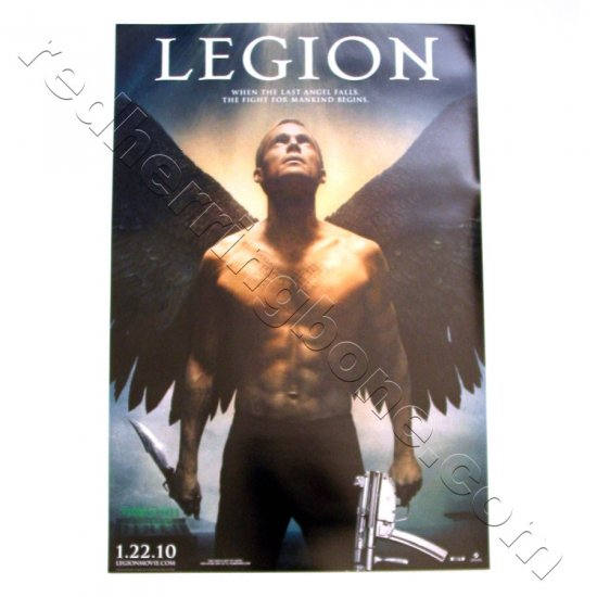 "Legion (2010) Promo Movie Teaser Poster (Paul Bettany, Dennis Quaid) 11""x17"" NEW"
