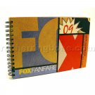 FOX Fanfare 2009 San Diego Comic-Con Autograph Book (Movie & TV Show postcards) NEW