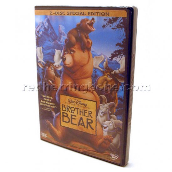 Brother Bear 2-Disc Special Edition DVD (Walt Disney Pictures) NEW