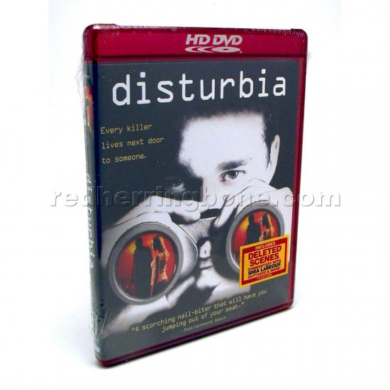 Disturbia HD DVD (Shia LaBeouf, David Morse, Sarah Roemer) NEW