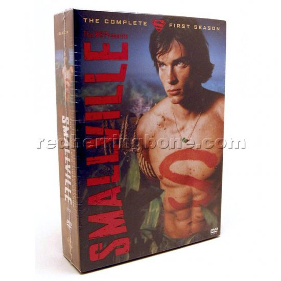 Smallville: The Complete First Season (One 1 1st) 6-Disc DVD (Tom Welling, Kristin Kreuk) NEW