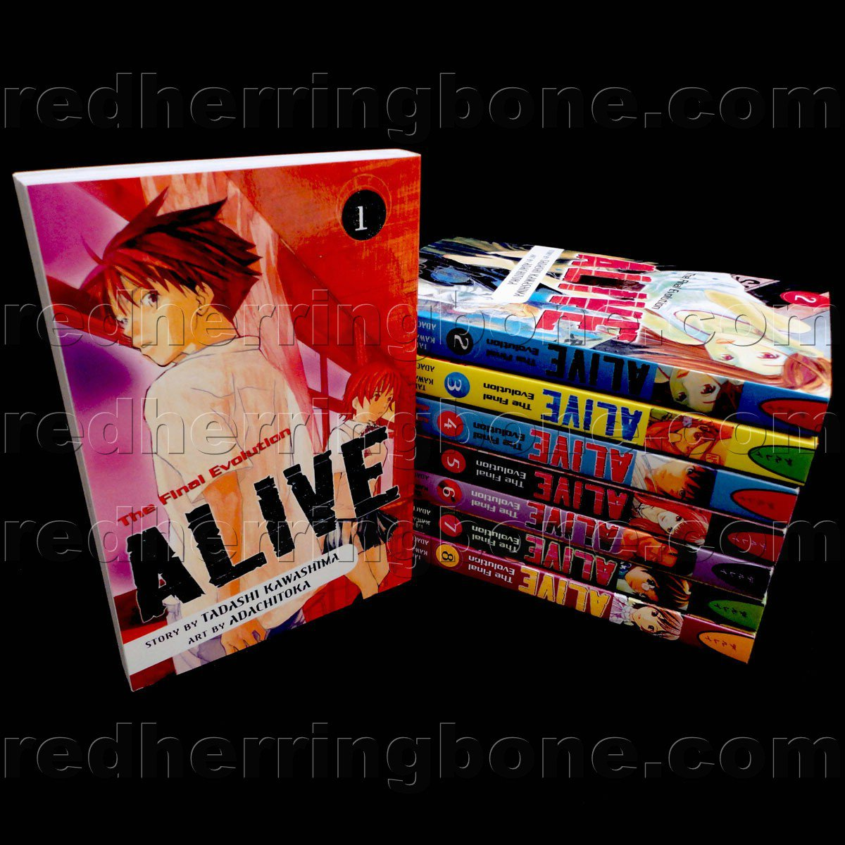 Alive: The Final Evolution, Vol. 1-8 (set includes 8 volumes) Tadashi Kawashima & Adachitoka NEW