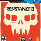 Resistance 3 - Playstation 3 - CIB