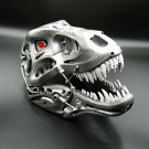 Finished 3D printed scale model - head of Terminator REX
