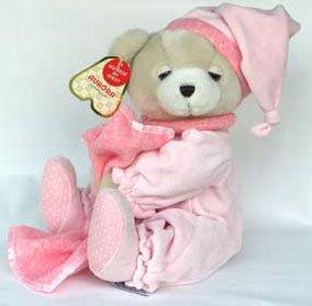 Aurora Blankie Bear Pink