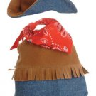 "Aurora 8"" Dress Up Denim Cowboy Outfit NEW"
