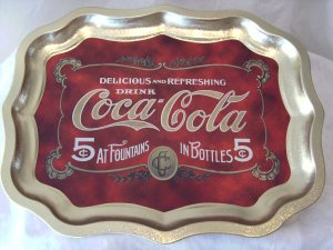 Coke Coca~Cola Tray  NEW