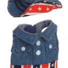 "Aurora 8"" Dress Up  American Denim Outfit  NEW"