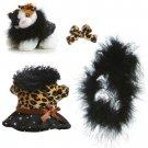 """Aurora 8"""" Dress Up Stylish Leopard Print - NEW"""