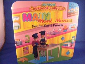 "Junior Cookbook Collection ""Main Meal Menus"""
