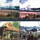 "Vietnam -TROOPs -1967 = Album + 36 (4"" / 6"") Color Photos + (2) 8""/10"" cover photos"
