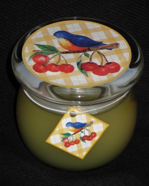 BIRD SONG Glass Jar Scented Candle � NEW