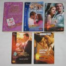 Lot of 5 Silhouette Books Romance Suspense Nora Roberts Rimmer McKay Dees Justine Davis