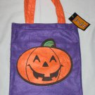 Halloween Pumpkin Jack O Lantern TRICK OR TREAT BAG Sack – NEW