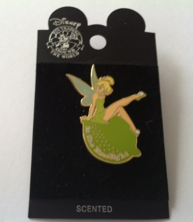 Disney Tinker Bell Trading Pin 19211 In the Limelight Scented Series 2002 NEW