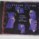 Depeche Mode Songs of Faith and Devotion 1993 Rock Music CD Sire Reprise Record Label