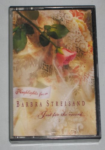Barbara Streisand Just For The Record Highlights 1992 Cassette