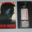 Mission Impossible 1996 VHS Tom Cruise, Jon Voight, Ving Rhames, Vanessa Redgrave