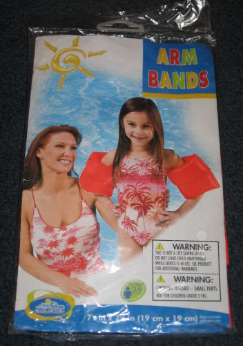 Intex Arm Bands Inflatable Swimming Pool Training Floats NEW