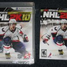 PS3 NHL 2K10 CASE and MANUAL ONLY Playstation 3