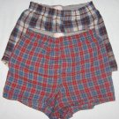 Lot of 2 Hanes Comfort Flex Boxer Shorts Underwear Boys Size S/P 6-8