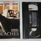 Beaches (VHS, 1996) Bette Midler, Barbara Hershey