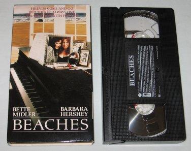 Beaches (VHS, 1996) Bette Midler, Barbara Hershey