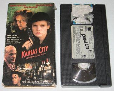 Kansas City (VHS, 1997) Jennifer Jason Leigh, Harry Belafonte, Miranda Richardson