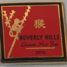 2016 Beverly Hills Chinese New Year Collectible Pin with Monkey NEW