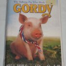 Disney GORDY The Talking Pig Who Made It Big VHS Clamshell NEW Factory Sealed
