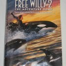 Free Willy 2 The Adventure Home 1995 VHS Clamshell Jason James Richter Warner Bros Family Movie