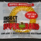 Insect Bug Repelling SuperBand Wristband Citronella Repels Mosquitos NEW