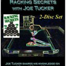 POOL/BILLIARDS RACKING SECRETS 2-DISC DVD/VIDEO SET