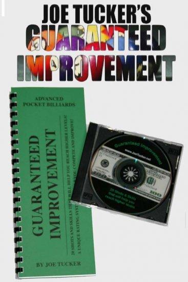POOL/BILLIARDS GUARANTEED IMPROVEMENT BOOK & DVD SET