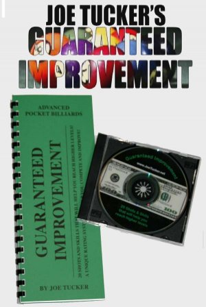 POOL/BILLIARDS GUARANTEED IMPROVEMENT BOOK & DVD SET
