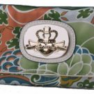 Kathy Van Zeeland Apollo Bali Print Clutch Wallet NEW!