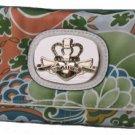Kathy Van Zeeland Apollo Bali Print Clutch Wallet NEW!