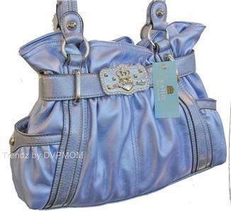 Kathy Van Zeeland ORCHID Studio 54 Belt Shopper Bag