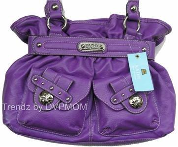 Kathy Van Zeeland VIOLA LADY LOOP Belt Shopper Bag NWT