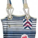 LARGE Parcel Loop NYC Topsail Sailor Travel Tote NWT