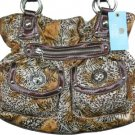 Kathy Van Zeeland TURN IT UP SAFARI Belt Shopper Bag