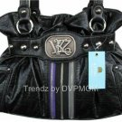 Kathy Van Zeeland Starstruck Black Belt Shopper Bag