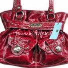 Kathy Van Zeeland CHERRY LADY LOOP Belt Shopper Bag NWT