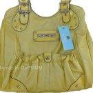 Kathy Van Zeeland Banana Casual Pocket Shopper Bag NWT