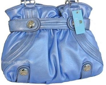 Kathy Van Zeeland ORCHID Delicious Belt Shopper Bag NWT