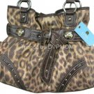 Kathy Van Zeeland Leopard Knotting Hill Belt Shopper